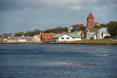 Falkland Islands Capital Imagenes de archivo