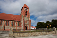 Falkland Islands Cathedral royaltyfria foton