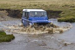 Falkland Islands Driving Royalty Free Stock Photo
