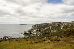 Falkland Islands Landscape Fotografia Stock Libera da Diritti