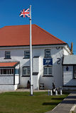 Falkland Islands Police Station Royaltyfri Bild