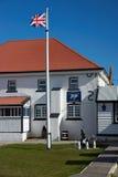 Falkland Islands Police Station Imagen de archivo libre de regalías