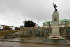 Falkland war memorial in Port Stanley, Falkland Islands Royalty Free Stock Photography