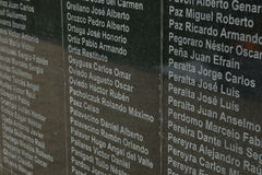 Falklands / Malvinas Memorial Stock Photography