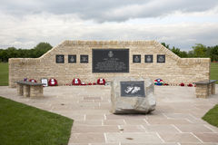 Falklands memorial, Alrewas, Staffordshire Stock Photos