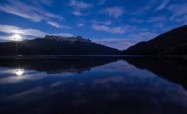 Falkner lake patagonia. Falkner lake south Argentina, patagonia Stock Images