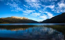 Falkner lake patagonia. Falkner lake south Argentina, patagonia Royalty Free Stock Photography