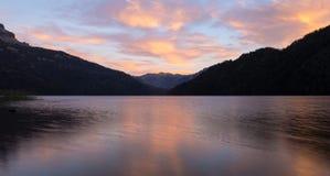 Falkner lake patagonia. Falkner lake south Argentina, patagonia Stock Photo