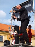 Falkoshow, Lublin, Pologne Image stock