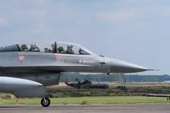 falkstridighet Lockheed Martin för 16 f Arkivfoton