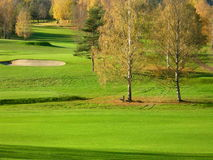 Fall. Bogstad golf course in Oslo  in the fall Stock Images