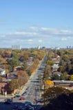 Fall. Streets of North York, Ontario Stock Photo