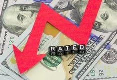 Fall abstraction rating dollars Stock Photo