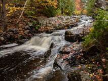 Acadia National Park in Autumn royalty free stock image
