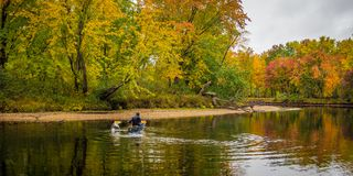 Fall in Adirondack-Berge Lizenzfreies Stockfoto