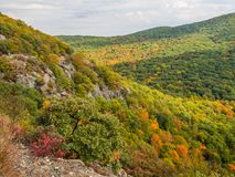 Fall in Adirondack Mountains Royalty Free Stock Photography