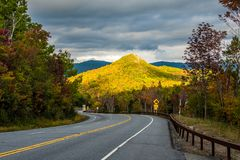 Fall in Adirondack Mountains Stock Image