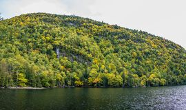 Fall in Adirondack Mountains Stock Photo