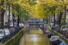 Fall in Amsterdam Stock Image