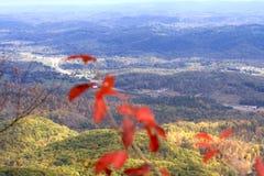 Fall in Appalachians. View of Appalachian Mountains from Cumberland Gap, Kentucky Royalty Free Stock Photo