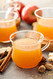 Fall apple cider with warm spices Royalty Free Stock Image