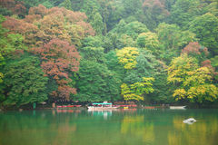 Fall in Arashiyama, Japan Royalty Free Stock Images