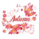 Fall art background Royalty Free Stock Image