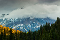 Fall Atmosphere In The West Elks royalty free stock photo