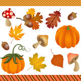 Fall Autumn Clipart Digital Royalty Free Stock Photography