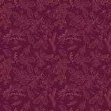 Fall, Autumn or Thanksgiving Vector Flower Pattern