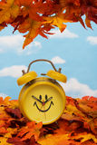 Fall Back Time Change Stock Image