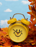 Fall Back Time Change Stock Photos
