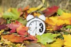 Fall Back Time Change Royalty Free Stock Image