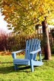Fall Backyard Garden Stock Image