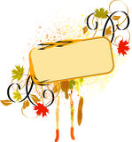 Fall banner Royalty Free Stock Photography