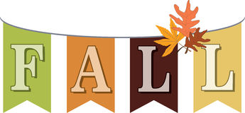 Fall Banner Stock Photo
