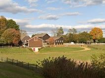 Fall-Bauernhof Lizenzfreie Stockfotografie