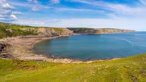 Fall Bay Wales UK Royalty Free Stock Images