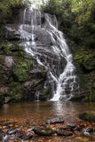 Fall Begins At Eastatoe Falls stock image