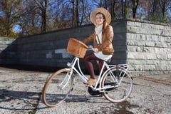 Fall bike ride Royalty Free Stock Photos