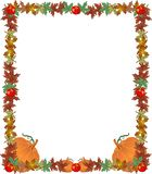 Fall Border Frame Illustration Royalty Free Stock Images