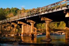 Fall Bridge Stock Photos
