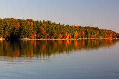 Fall on Buck lake Ontario Stock Images