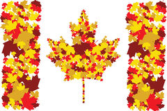 Fall in Canada stock illustration