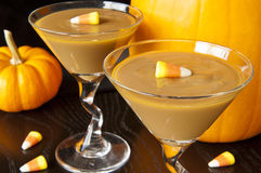 Fall Carmel Pudding Royalty Free Stock Photo