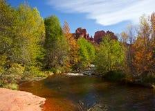Fall at Cathedral Rock Stock Photos