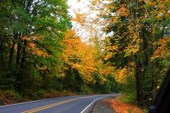 Fall in the Coast range Stock Photography