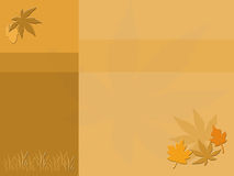 Fall Collage. Fall colors with leaf motives - Good for title background or scrapbooking Royalty Free Stock Photo