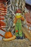 Autumn puppet - an autumn creation Royalty Free Stock Photo