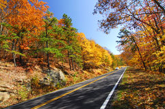 Fall Color Skyline Drive Royalty Free Stock Image